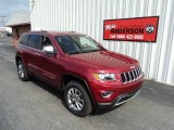 2014 Deep Cherry Red Crystal Pearl Jeep Grand Cherokee Limited 4x4 #84404483