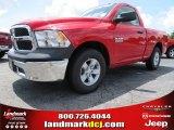 2014 Flame Red Ram 1500 Tradesman Regular Cab #84404043