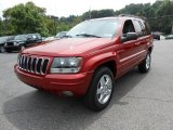 2003 Jeep Grand Cherokee Inferno Red Tinted Pearlcoat