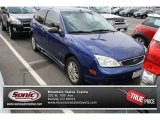 2005 Sonic Blue Metallic Ford Focus ZX3 SE Coupe #84403869