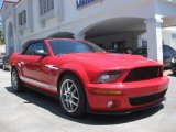 2007 Torch Red Ford Mustang Shelby GT500 Convertible #84404023