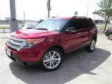 2014 Ruby Red Ford Explorer XLT #84403945