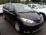 2011 Black Toyota Sienna LE #84404451