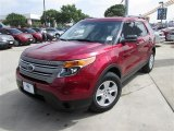 2014 Ruby Red Ford Explorer FWD #84403942