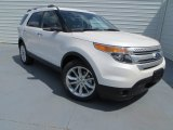 2014 White Platinum Ford Explorer XLT #84404121