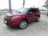 2014 Ruby Red Ford Explorer Limited #84403939