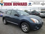 2013 Graphite Blue Nissan Rogue S AWD #84404362