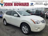 2013 Pearl White Nissan Rogue SV AWD #84404361