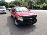 2008 Victory Red Chevrolet Silverado 1500 Work Truck Regular Cab #84404184