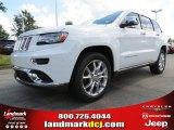 2014 Bright White Jeep Grand Cherokee Summit 4x4 #84449921