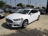2013 Oxford White Ford Fusion SE 1.6 EcoBoost #84449819