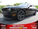2013 Pitch Black Dodge Challenger R/T Blacktop #84449905