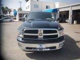 2009 Brilliant Black Crystal Pearl Dodge Ram 1500 SLT Quad Cab #84449856