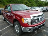 2013 Ruby Red Metallic Ford F150 XLT SuperCrew 4x4 #84449895