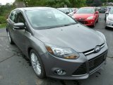 2014 Sterling Gray Ford Focus Titanium Hatchback #84449888