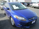 2012 Sonic Blue Metallic Ford Focus Titanium 5-Door #84449833
