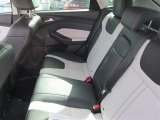 2012 Ford Focus Titanium 5-Door Rear Seat