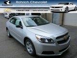 2013 Silver Ice Metallic Chevrolet Malibu LS #84450097