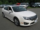 2011 White Platinum Tri-Coat Ford Fusion Sport #84450091