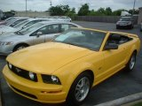 2006 Screaming Yellow Ford Mustang GT Premium Convertible #84450031