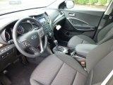 2013 Hyundai Santa Fe GLS AWD Black Interior