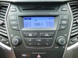 2013 Hyundai Santa Fe GLS AWD Audio System