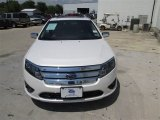 2011 White Platinum Tri-Coat Ford Fusion SEL V6 #84473027