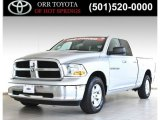 2012 Bright Silver Metallic Dodge Ram 1500 SLT Quad Cab #84473123