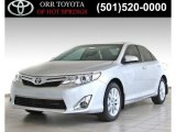 2013 Classic Silver Metallic Toyota Camry XLE #84473121