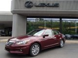 2011 Basque Red Pearl Honda Accord EX-L V6 Sedan #84473061
