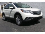 2013 White Diamond Pearl Honda CR-V EX-L #84477816
