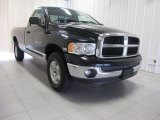 2004 Black Dodge Ram 1500 SLT Regular Cab 4x4 #84478134