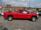 2013 Victory Red Chevrolet Silverado 1500 LT Extended Cab 4x4 #84477934