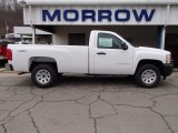 2013 Summit White Chevrolet Silverado 1500 Work Truck Regular Cab 4x4 #84477933