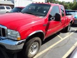2004 Red Ford F250 Super Duty XLT SuperCab 4x4 #84478267