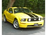 2006 Screaming Yellow Ford Mustang GT Deluxe Coupe #84478189