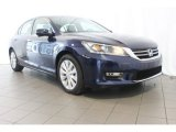 2013 Obsidian Blue Pearl Honda Accord EX-L Sedan #84477804