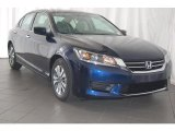 2013 Obsidian Blue Pearl Honda Accord LX Sedan #84477803