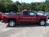 2014 Deep Ruby Metallic Chevrolet Silverado 1500 LTZ Z71 Double Cab 4x4 #84477979