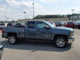 2014 Blue Granite Metallic Chevrolet Silverado 1500 LT Double Cab 4x4 #84477978