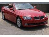 2011 Crimson Red BMW 3 Series 328i Convertible #84478242