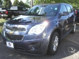 2013 Atlantis Blue Metallic Chevrolet Equinox LS AWD #84477789