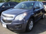 2013 Atlantis Blue Metallic Chevrolet Equinox LS #84477785