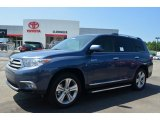 2013 Shoreline Blue Pearl Toyota Highlander Limited 4WD #84477954