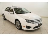 2010 White Platinum Tri-coat Metallic Ford Fusion SEL #84478158