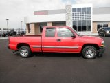 2002 Victory Red Chevrolet Silverado 1500 LS Extended Cab #84478225