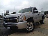 2011 Sheer Silver Metallic Chevrolet Silverado 1500 LS Regular Cab #84518383