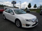 2010 White Suede Ford Fusion SEL #84518370
