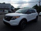 2014 White Platinum Ford Explorer Sport 4WD #84518705