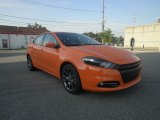 2013 Header Orange Dodge Dart SXT #84518770